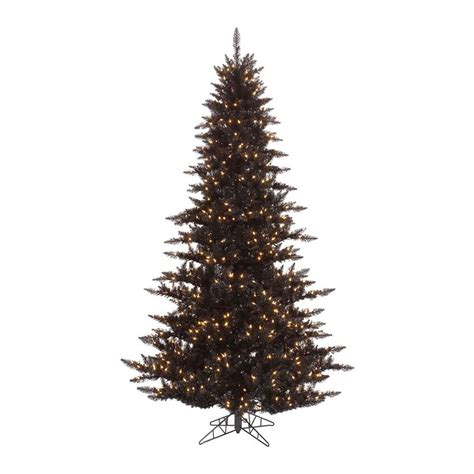 4 5 Pre Lit Tree - shop vickerman 4 5 ft 525 count pre lit slim artificial