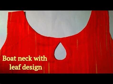 boat neck with leaf design boat neck with leaf design malayalam youtube