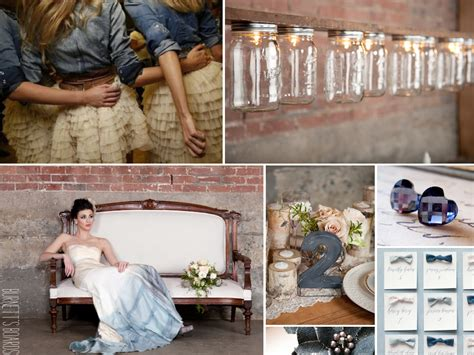 country wedding ideas denim inspiration