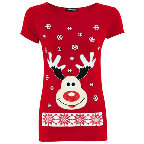 womens ladies christmas xmas santa snowman reindeer batman