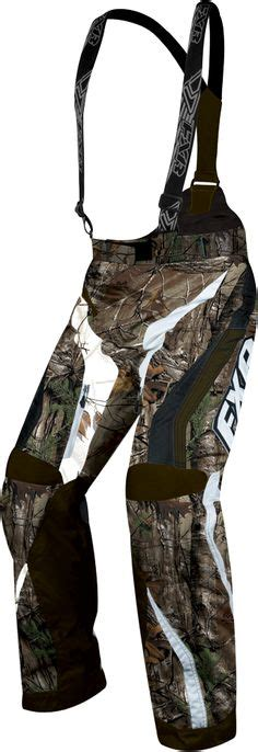 hutte camouflage fxr racing snowmobile gear s x system pant