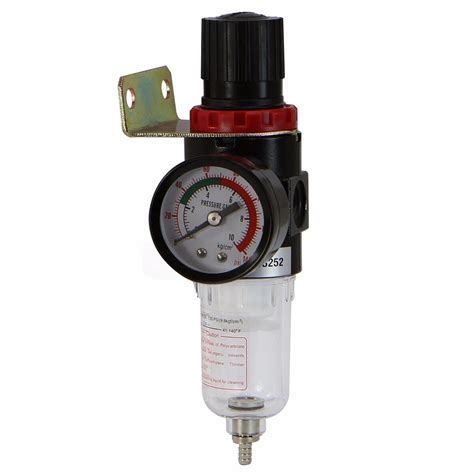 new 1 4 quot water trap air compressor filter regulator moisture traps 140 psi