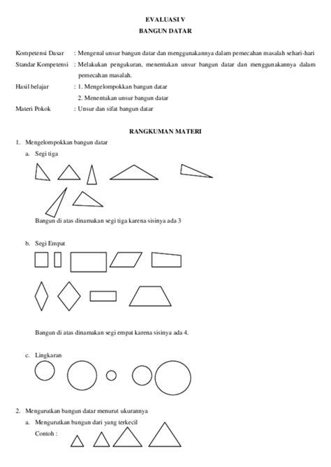contoh soal bangun datar segitiga terbaru