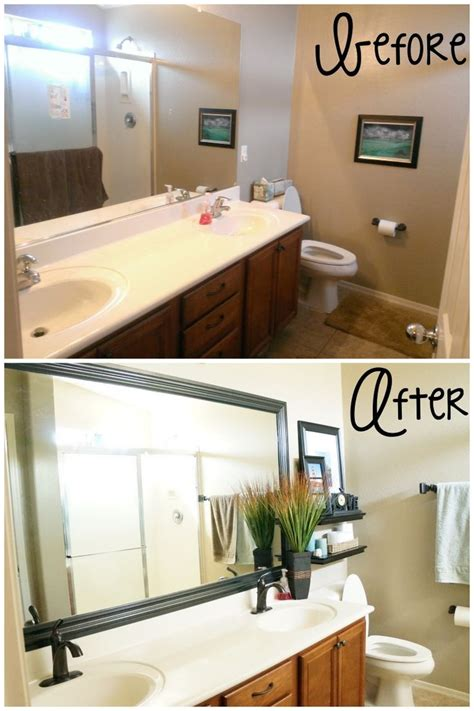 easy bathroom makeover ideas simple bathroom makeovers artenzo