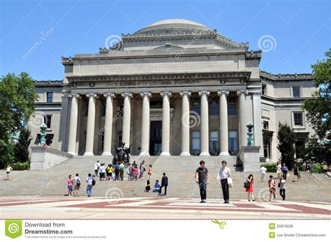 Columbia New York Ny Mba by Nyc The Library Of Columbia Editorial Stock