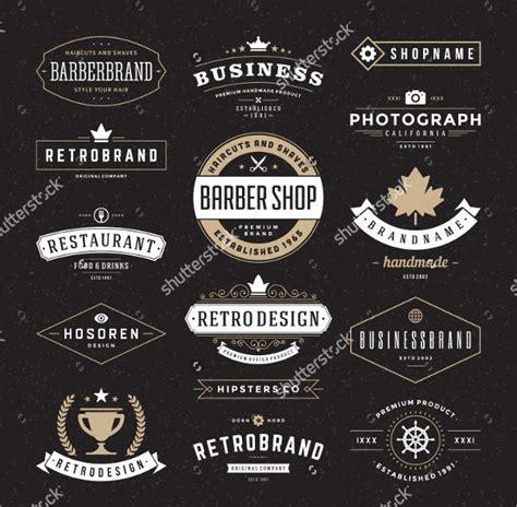 retro logo templates 9 retro logos free psd vector ai eps format