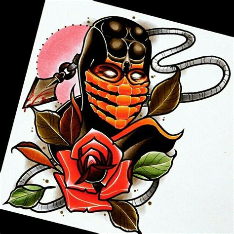 mortal kombat tattoo designs mortal kombat design drawings