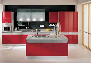 Red And White Kitchen Design red black and white kitchen designs home design ideas