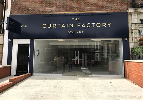 Curtain Factory Outlet Signstar Sign Makers Print Sign Company
