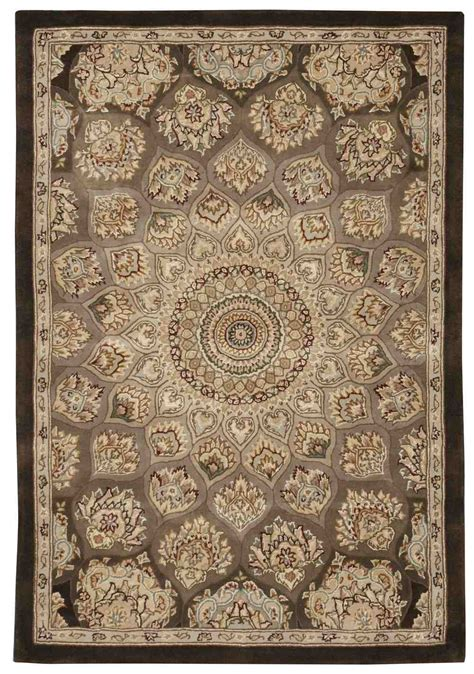 nourison 2000 area rugs nourison 2000 2318 brown area rug free shipping