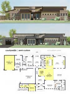 contemporary side courtyard house plan 61custom uk modern house designs english house design modern house