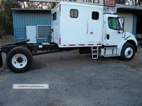 Freightliner With Sleeper by 2008 Freightliner M2