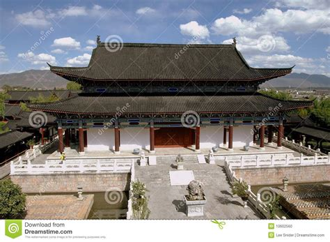 house of china lijiang china house of mu stock photo image 10602560