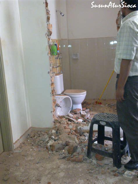 Toilet Portable Toilet Pindah Toilet Kontraktor kos pindah pintu toilet dapur susun atur sioca