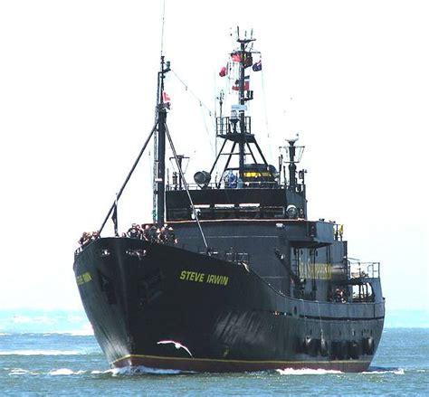 sea shepherd steve irwin sinks sea shepherd