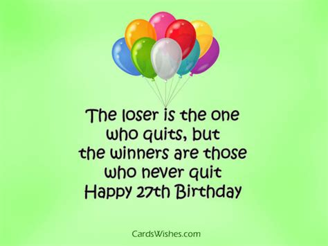 Happy 27th Birthday Quotes Happy 27th Birthday My Winner Pictures Photos And Images