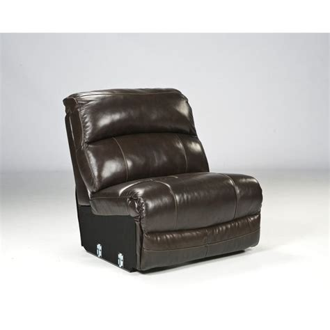 ashley brown leather recliner ashley furniture damacio 5 piece leather reclining