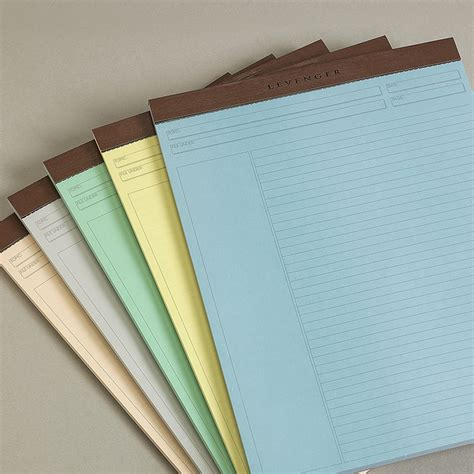 How To Make Pads Of Paper - freeleaf multicolored annotation ruled pads letter