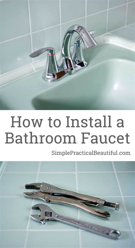how to install a kitchen faucet luxury how to replace bathroom faucet bathroom interior