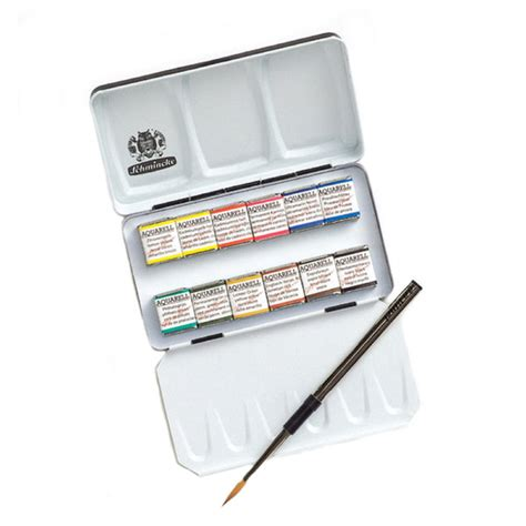 schmincke watercolor schmincke watercolor crafty crusaders schmincke half pan
