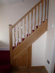 stair banister spindles stairs how to replace banister newel post handrail and
