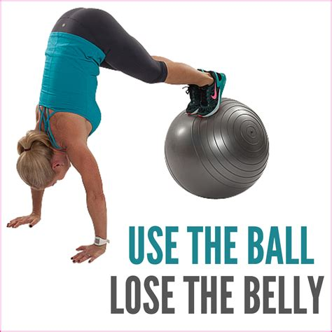 use the lose the belly workout get healthy u