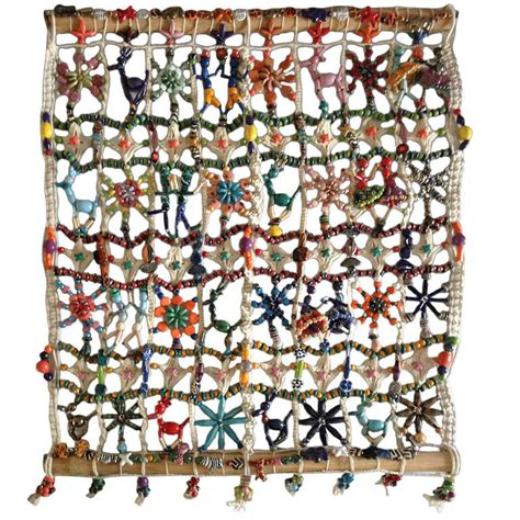 Beautiful Handmade Wall Hangings - a beautiful handmade wall hanging at 1stdibs