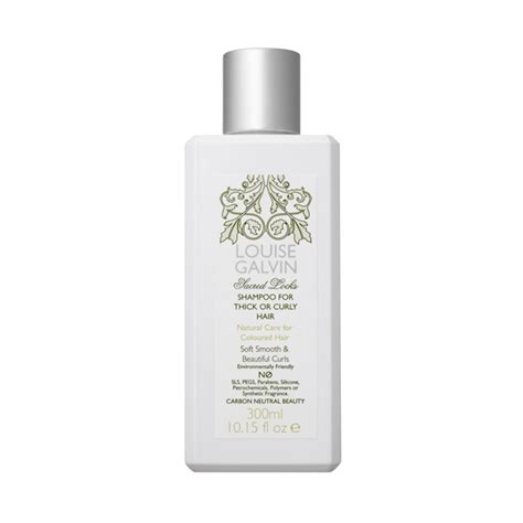 hair thickening products for curly hair louise galvin shoo for thick or curly hair 300ml hq hair