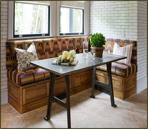 kitchen nook bench with storage images cozy breakfast