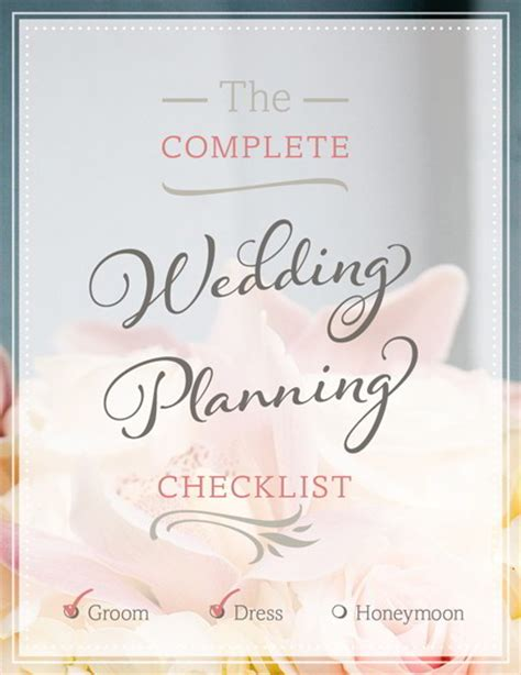 Wedding Checklist Book Wedding Planning Checklist Free Wedding Checklist Magnetstreet Weddings