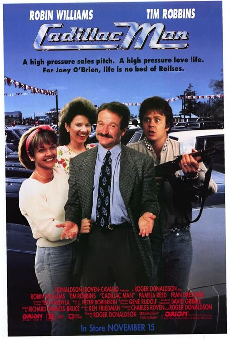 Robin Williams Car Salesman by Cadillac Posters From Poster Shop