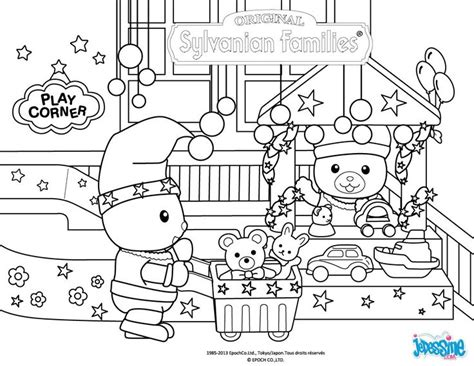 sylvanian family coloring page coloriage sylvanian families cest no 235 l summer rose