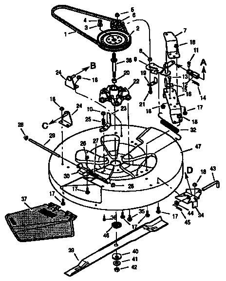 murray lawn mower deck parts diagram murray lawn mower drive belt diagram wiring diagram