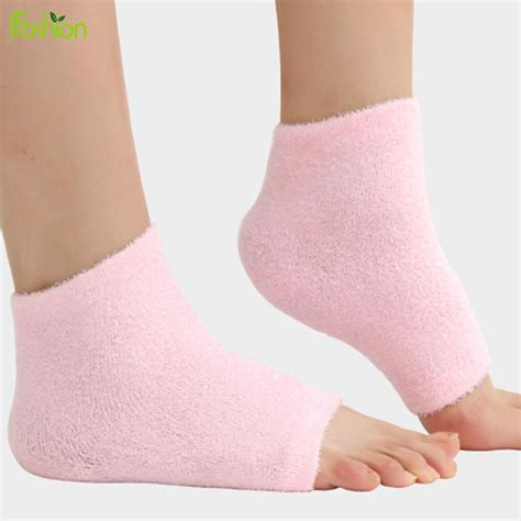 Foot Care Tips To Avoid Cracked Heels by Aliexpress Buy 1pair Gel Heel Socks Moisturing Spa