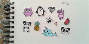 How To Draw Decals Diy Stickers Drawings