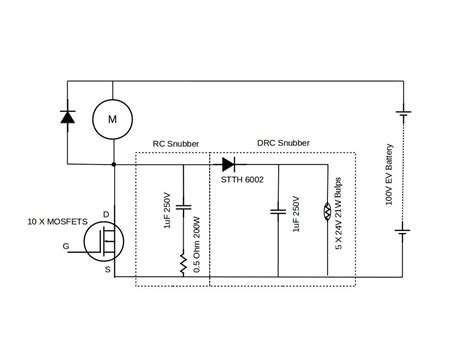 snubber circuit with diode diode snubber cap 28 images rc snubber leakage current lessons in electric circuits volume