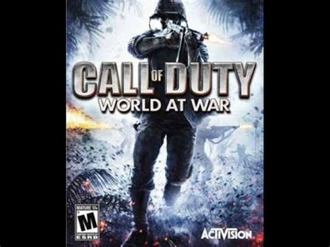 theme music world at war call of duty world at war nazi zombies theme song youtube