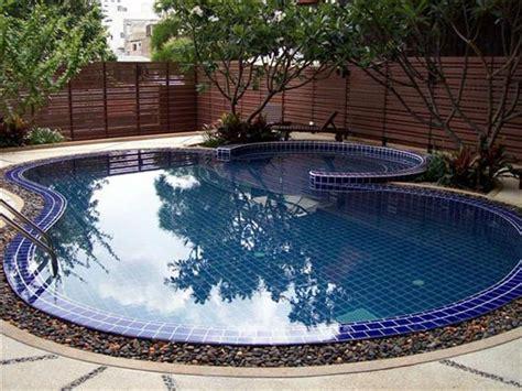 small swimming pool ideas small backyard no problem wallace watershapes