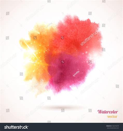 watercolor texture vector illustration multicolor grunge
