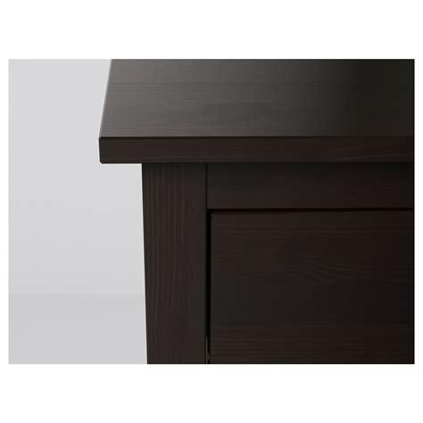 hemnes chest of 2 drawers hemnes chest of 2 drawers black brown 54x66 cm ikea