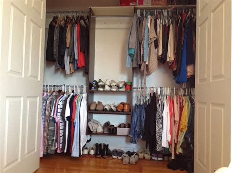 Easy Closet System Two It Yourself Best Small Closet System To Maximize