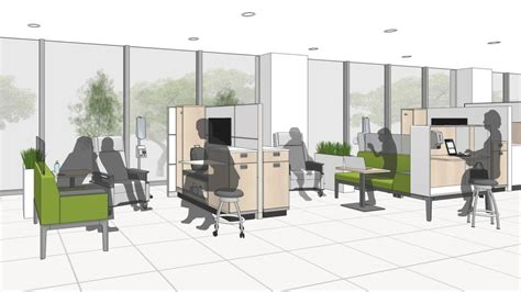 chemotherapy room layout infusion therapy room space design steelcase