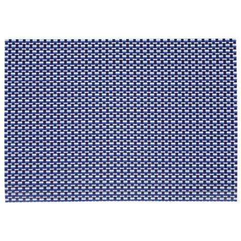 Vinyl Woven Placemats Factory Cheap by Denby Woven Vinyl Rectangular Placemat Imperial Blue