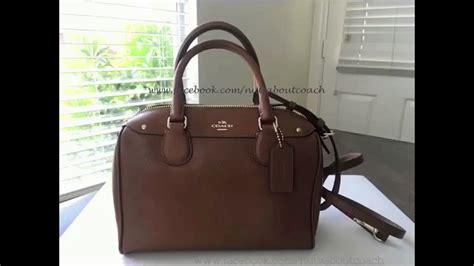 Coach Mini Bennet By Bebititota coach mini in crossgrain leather 57521