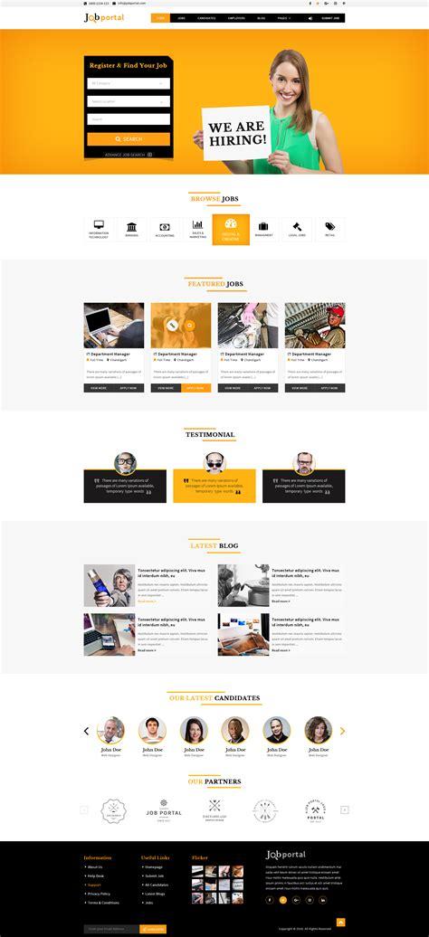themeforest job portal job portal html template by tmdstudio themeforest
