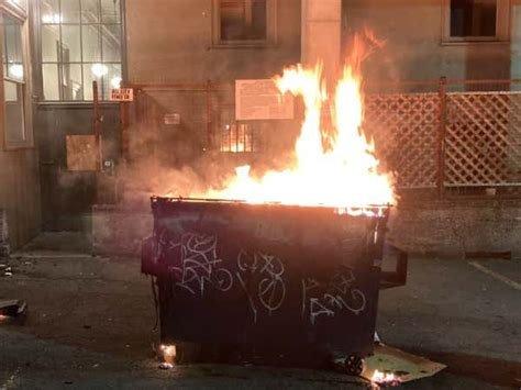 dumpster fire  chaz   worlds newest