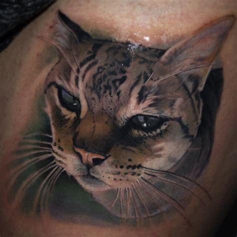 tattoo cat realistic realistic cat head tattoo tattoo pinterest cats