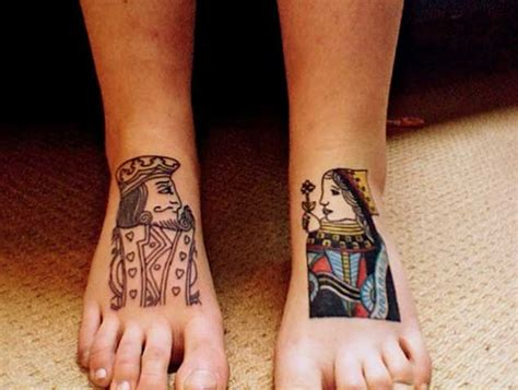 tattoo poker queen 40 king queen tattoos that will instantly make your