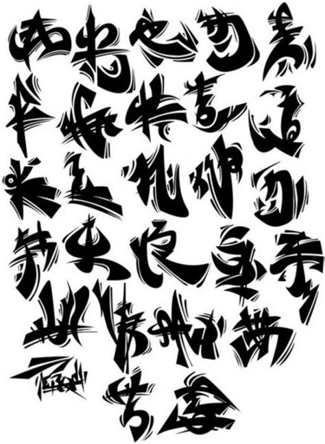 graffiti styles list fonts style of black graffiti alphabet a z