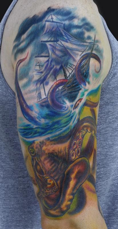 kraken tattoos designs ideas and meaning tattoos for you